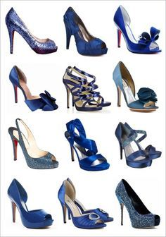 Despite most of the blue wedding shoes are THE Christian Louboutin I guess this would be just the 'wishlist' Blue Wedding Shoes, Bridal Shoes, Navy Blue Weddings, Wedding Dress, Cute Shoes, Me Too Shoes, Vip Fashion Australia, Manolo Blahnik Heels, Blue Heels