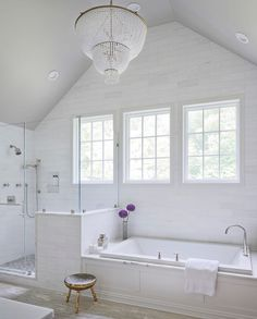 Bathmaster Nanaimo his and her bathroom nice layout for shower and view | house to