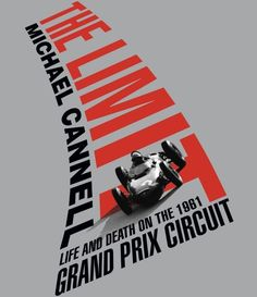 The Limit Poster got Grand Prix racing - brilliant graphic design example