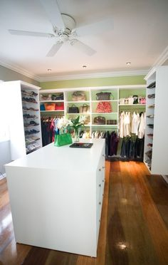 What an amazing closet!  It's like you go shopping every time you get dressed.