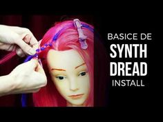 Double Ended (DE) DIY How to Install Synthetic Dreads - DoctoredLocks.com - YouTube