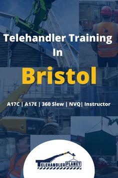 Start your awesome career as a Telehandler Operator in Bristol. This is a very rewarding job, it's well paid and there are a lot of opportunities to grow in this space!  Check out more info about Telehandler Courses here! City Of Bristol, Bristol Uk, Train The Trainer, London Today, St Albans, Swansea, Inverness, Exeter, Portsmouth