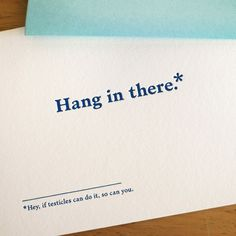 Cheer Up Card by Old Tom Foolery