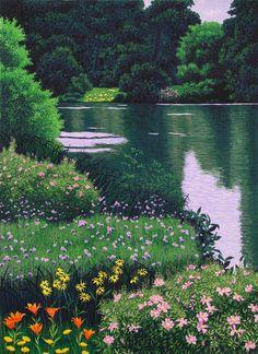 Gordon Mortensen : Red River, 2000