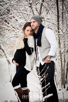 That means it is the perfect time to go outside and take some adorable winter maternity pictures. Here are some ideas: And some more super cute photos: Winter Maternity Pictures, Winter Maternity Outfits, Maternity Poses, Maternity Portraits, Pregnancy Outfits, Maternity Clothing, Winter Pregnancy Photos, Maternity Style, Winter Outfits