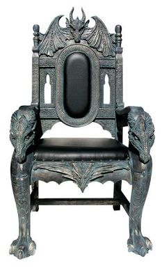 Omg a dragon throne!  I needs this!