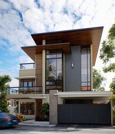 33 best of minimalist modern house designs plan 1 Zen House Design, 3 Storey House Design, Two Story House Design, Tropical House Design, Bungalow House Design, House Front Design, Minimalist House Design, Modern Bungalow Exterior, Modern House Facades