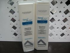 Alfaparf Semi Di Lino Volume Magnifying Shampoo 8.45 and Conditioner 8.45 Fl. Oz. (Duo Set) by Alfaparf milan * To view further for this item, visit the image link.