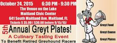 Learn more about this greyt event! here http://rockssticksandhell.com/greyt-plates-for-a-greyt-cause/