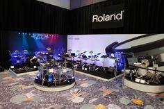 V-Drums area.