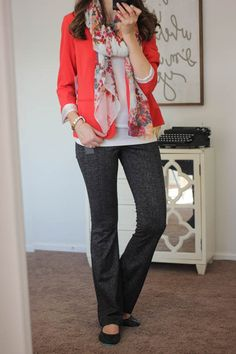 Jordyn Bootcut Pant from Liverpool - Stitch Fix; I've been missing the bootcut pants! I'm ready for their return.