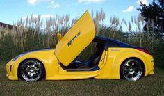 Vertical Doors, Nissan 370z, Cars, Vehicles, Autos, Automobile, Vehicle, Car, Trucks