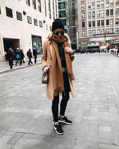 STREET STYLE | Winter Layers, Camel Coat