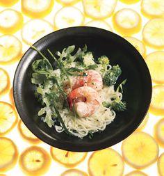 Creamy Lemon Shrimp