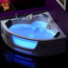 LED Massage Whirlpool Wall Corner bath tub Shower SpaFiber Glas – Beyond baths Jacuzzi Bathtub, Bathtub Drain, Soaking Bathtubs, Corner Jacuzzi Tub, Steam Showers Bathroom, Shower Tub, Bath Tub, Bathrooms, Bathroom Tubs