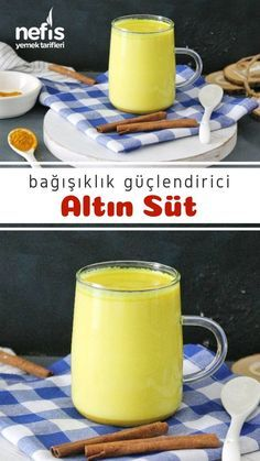 Gold Milk, Famous Last Words, Turkish Recipes, Milk Recipes, No Cook Meals, Fitness Inspiration, Glass Of Milk, Healthy Life, Smoothies