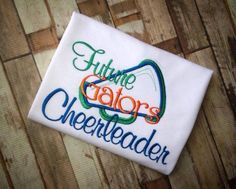 Hey, I found this really awesome Etsy listing at https://www.etsy.com/listing/162913200/future-gators-cheerleader