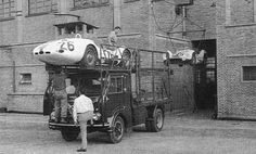 The Camoradi team's truck could carry three cars but it required a lift.
