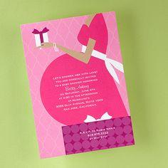 Fuchsia Baby Shower Invite!