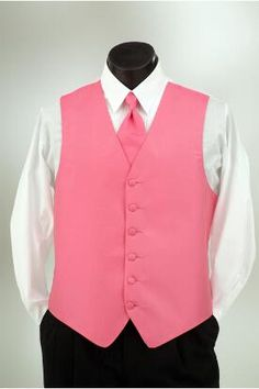 Fiesta vest and matching windsor tie at Tuxedo Junction.