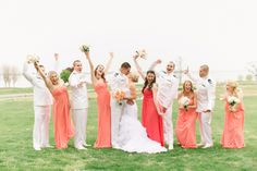 excited wedding party shot :)  Christina   Edwin || A Kingsmill Resort Wedding, Williamsburg Virginia Wedding Photographers