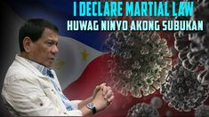 """I declare Martial Law, huwag ninyo akong subukan """"Magtago na kayo"""" Hair Color For Women, Touching You, Martial, Law, How Are You Feeling, Youtube, Model, Scale Model"""