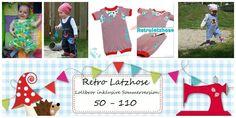 Nähanleitungen Baby - E Book Retrolatzhose Gr.50-110 - ein Designerstück von Lolletroll bei DaWanda