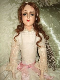 Vintage Composition Anita Type Bed Boudoir Doll | eBay