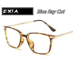 Amber Frame TR90 Glasses Blue Cut Effection EXIA OPTICAL KD-5007 Series