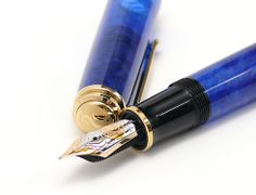 Writer's Bloc Blog: Why Use a Fountain Pen? I have started writing with one. This article touches on several of the reasons, it seems to cause me to think a bit more before writing.