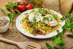 Zelená čočka podle Zdeňka Pohlreicha Fried Rice, Cobb Salad, Fries, Ethnic Recipes, Food, Vip, Lentil Salad, Salads, Bon Appetit