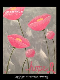 Pink Poppies of Hope