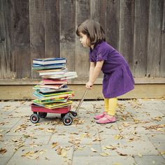 A girl can't have too many books.