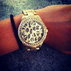 Must have!! cheetah watch ;)a