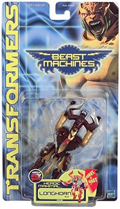 Transformers Beast Machines Longhorn Bull ** Click image to review more details.Note:It is affiliate link to Amazon.