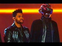 The Weeknd ft Daft Punk performance Grammys Awards 2017 video grammy awards