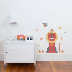 It's time to help your little one bring the wild inside with our Geo theme fabric wall stickers. Inspired by geometric shapes, it's super easy to put together and the possibilities for how you arrange your wall decals are endless! Murals For Kids, Cleaning Walls, Wall Decor Stickers, Kids Bedroom, Playroom, Cribs, Storage Chest, Kids Rugs, Interior Design