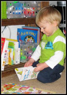 Encouraging Emergent Literacy - Good blog on lots of education ideas