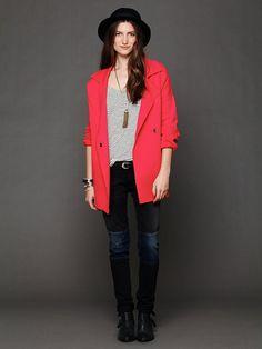 Free People Slouchy Sweater Jacket http://www.freepeople.com/whats-new/slouchy-sweater-jacket-27098433/