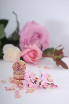 Rose Geranium Bath Melts - lovely for Valentine's day