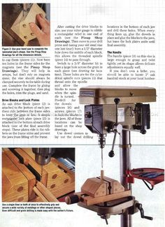 DIY Drill Press Vise - Drill Press