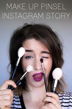 Beste Make Up Pinsel - Seit einigen Monaten zeige ich euch mein morgendliches Schminken in meiner Instagram Story. Zu nichts erreichen mich so viele Fragen wie zu meinen meist benutzten Make Up Pinseln! ZOEVA Favoriten, Hakuhodo, Koyudo, Wayne Goss und Morphe!  #makeuppinsel #makeupbrushes #hakuhodo #koyudo #waynegoss #schminken #schminkpinsel #realtechniques #zoeva #zoevacosmetics #zoevapinsel