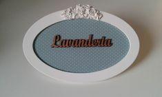 Placa Lavanderia