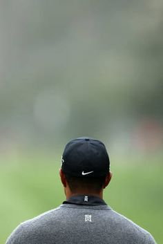 SAN FRANCISCO, CA - JUNE 13: Tiger Woods of the United States waits on a tee box during a practice round prior to the start of the 112th U.S. Open at The Olympic Club on June 13, 2012 in San Francisco, California.