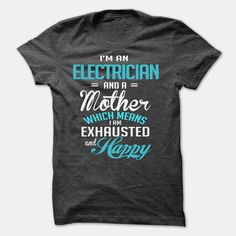 ELECTRICIAN, Order HERE ==> https://www.sunfrog.com/LifeStyle/ELECTRICIAN-59633406-Guys.html?41088, Please tag & share with your friends who would love it , #superbowl #christmasgifts #jeepsafari