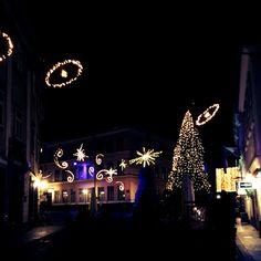 Lights in old part of Ljubljana #ljubljana #PresernovSquare #ChristmaJoy #ShristmasSpirit #love #december #ChristmasTree