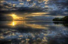 """Happiness is reflective, like the light of heaven."" ~ Washington Irving"