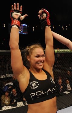 "Ronda ""rowdy"" Rousy fight tonight - Feb. 22! That fight was freaking awesome!"