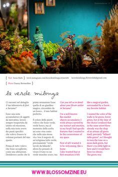 verde-milonga Zine, Floral Design, Green, Floral Patterns