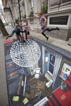 Applexlogos: StreetArt di Joe Hill :: Loghi aziendali :: Gallerie creative :: Ispirazioni ::
